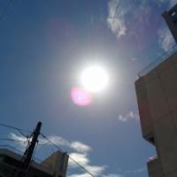 鹿児島市は晴天なり