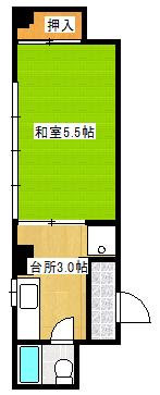Satsukan.BLD 502間取り