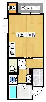 Zero武2丁目3-D間取り