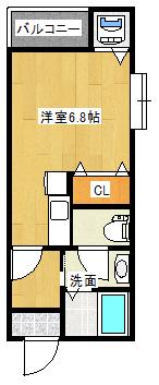 Zero武町401間取り