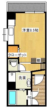Zero西田202間取り