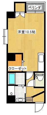 Zero西田305間取り