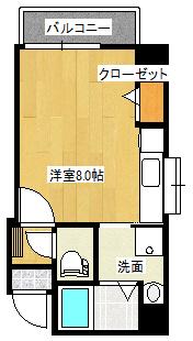 Zero西田401間取り