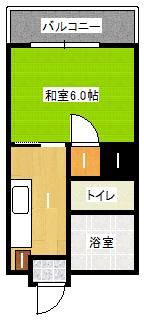 平成中央ビル 202間取り