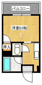 Mハウス荒田603間取り